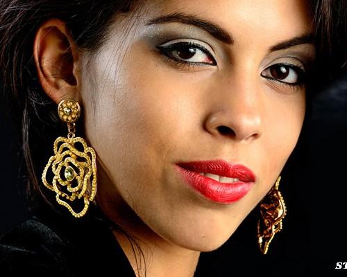 Portrait de Stacy par Daniel AUGUSTE.