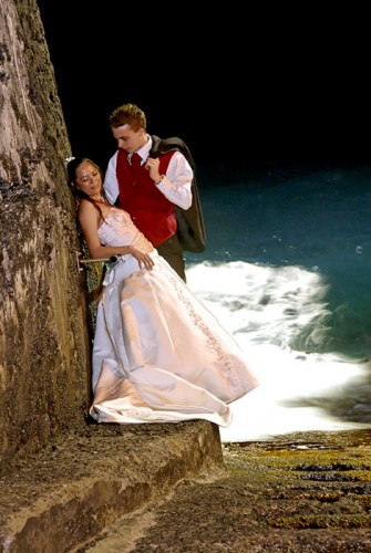 Mariage Réunion couple à Langevin