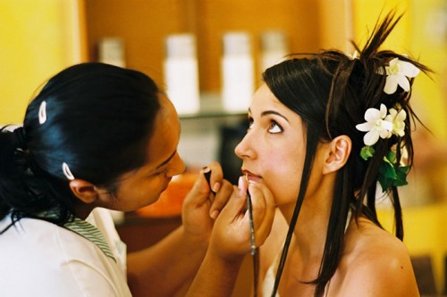 Mariage Réunion maquillage