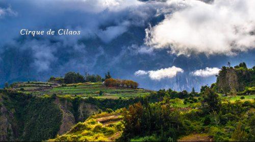 Paysage, Cirque de Cilaos à la Réunion